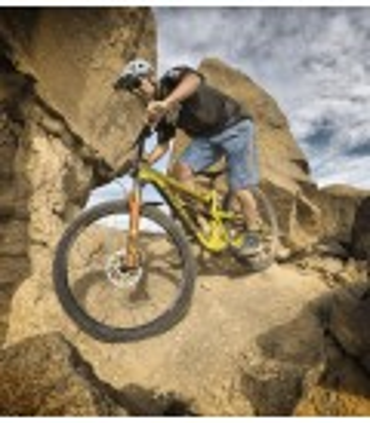 Pantalón Mountain Bike (MTB) Heras Camo Azul