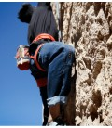 Turia Jeans Ethnic men's climbing and trekking denim trousers