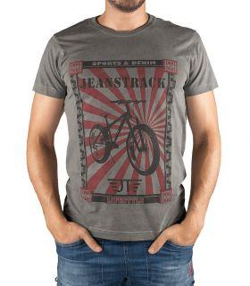 T-Shirt Coton Senda Kaki Homme