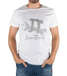 Camiseta Algodón Eina Blanco Hombre