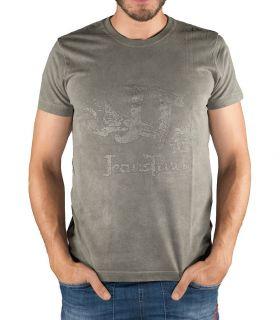 Camiseta Algodón Eina Caqui Hombre