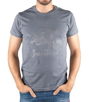 Eina men's grey bikking cotton T-shirt