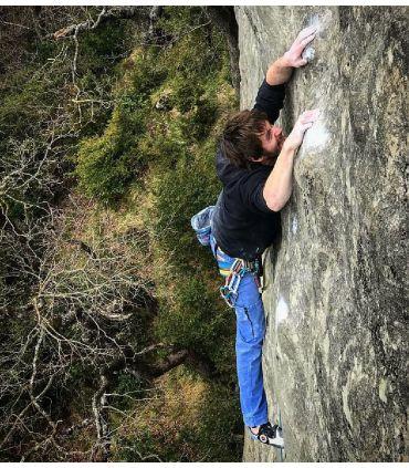 Pantalon d'escalade - trekking Aribe Bleu