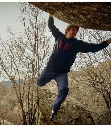 Pantalon d'escalade - trekking aribe marine