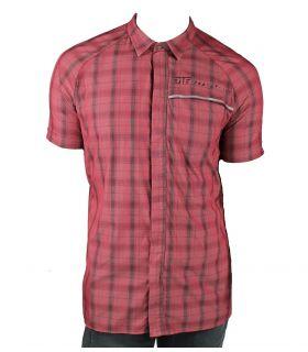 Camisa Ranglan Rojo Hombre