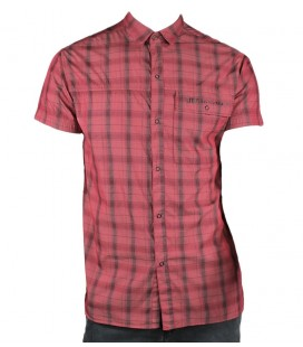 Camisa Street JT Rojo Hombre