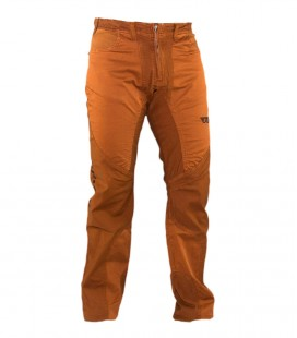 Garbi men's terracotta climbing and trekking trousers