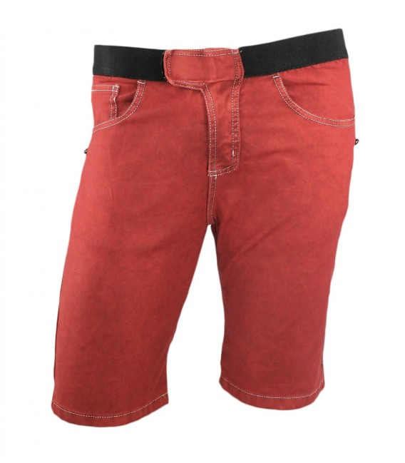Turia BR men's red climbing and trekking shorts