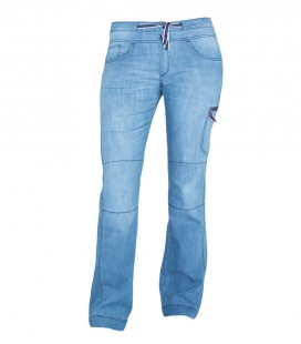 Senia Jeans Bleach women climbing and trekking