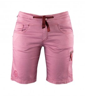 Senia BR women's pink climbing and trekking shorts