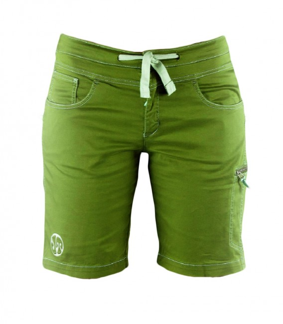 Senia BR women's green climbing and trekking shorts