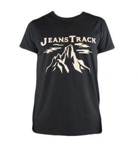 Camiseta Trekking - Escalada Cima Negro Hombre