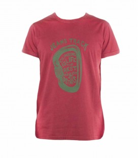 Camiseta Escalada - Trekking Presa Rojo Hombre