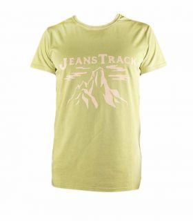 Camiseta Trekking - Escalada Cima Verde Hombre
