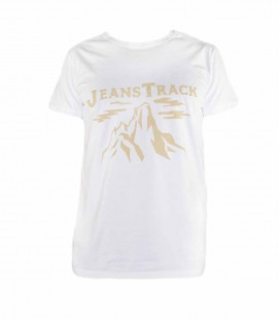 Camiseta Trekking - Escalada Cima Blanco Hombre