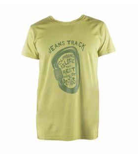 Camiseta Escalada - Trekking Presa Verde Hombre