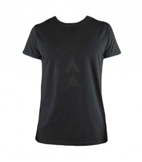 Camiseta Trekking - Escalada Earth Negro Hombre