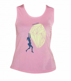 Peiro women's pink climbing and trekking cotton vest