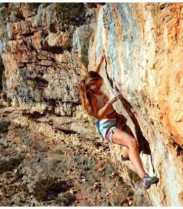 Pantalon d'escalade - Trekking Shira Short Vert Femme