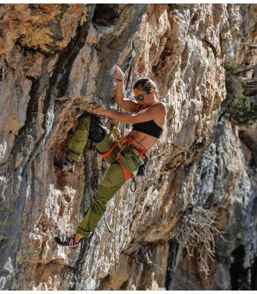 Pantalón Escalada - Trekking Tardor Verde Mujer
