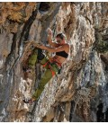 Pantalon Escalade - Trekking Tardor Verde Femme