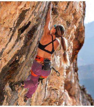 Pantalón Escalada - Trekking Tardor Rosa Mujer