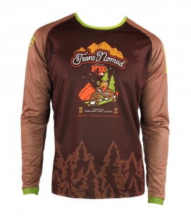 Camiseta Técnica Mountain Bike (MTB) Trans-Nomad 2019
