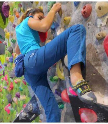 Pantalón Escalada - Trekking Senia Blue Mujer