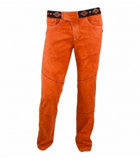 Pantalon d'escalade ethnique Turia Orange Homme