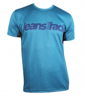 Teide blue technical short sleeve T-Shirt