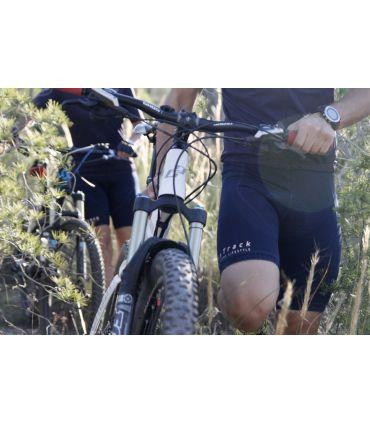 Jeans Cycling bib short Kudo Unisex