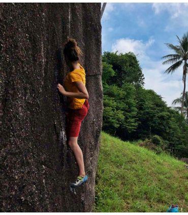 Senia BR women's chili climbing and trekking shorts