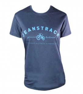 T-Shirt Technique Moutain Bike (MTB) Whip Blue Femme