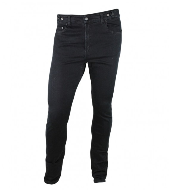 Venice jeans black unisex urban cycling trousers skinny fit
