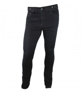 Venice jeans black unisex urban cycling trousers slim fit