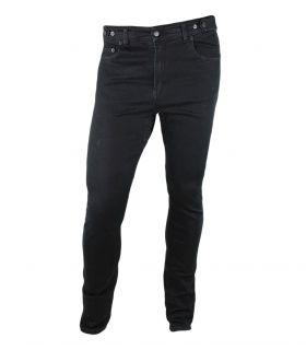 Venice jeans black unisex urban cycling trousers slim fit
