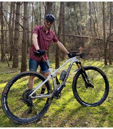 Pantalón corto ciclismo urbano Soho Jeans stone hombre