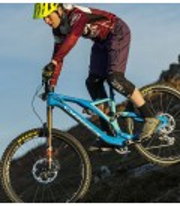 Heras Wine mountain bike (MTB) baggy jeans