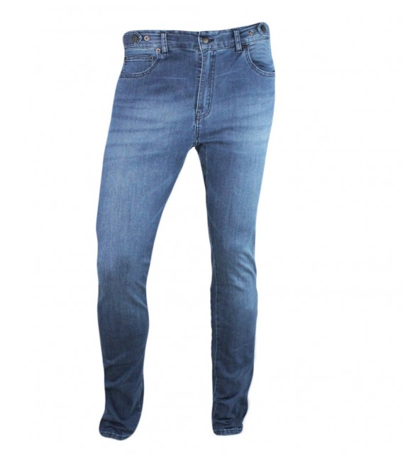 Venice Jeans sky unisex urban cycling trousers skinny fit