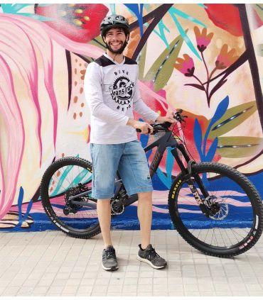 Pantalón Mountain Bike (MTB) Heras Jeans Brace