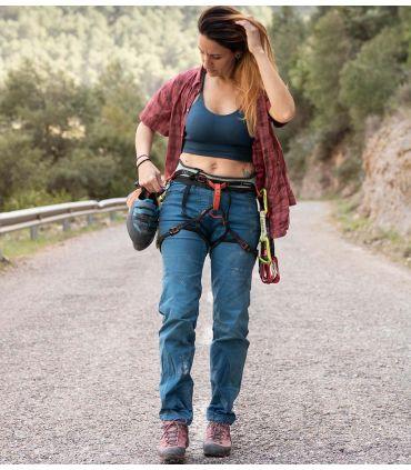 Tardor deep blue women's climbing and trekking pants