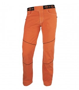 Turia men's pumpkin ethnic climbing and trekking trousers