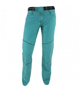 Turia men's green ethnic climbing and trekking trousers