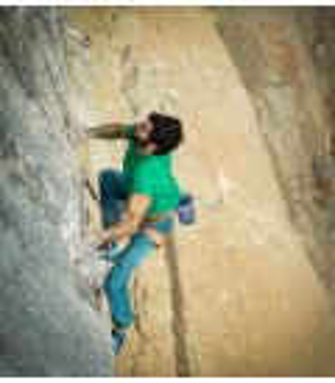 Turia men's green ethnic climbing and trekking trousers
