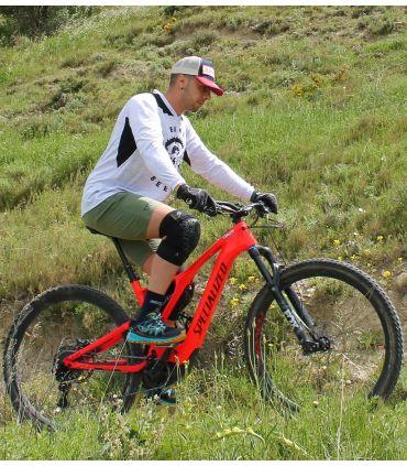 Ride Khaki Unisex Mountain Bike (MTB) Shorts
