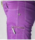 Senia BR women's lilac climbing and trekking shorts