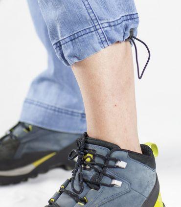 Pantalon d'escalade - Trekking Senia Jeans Bleach femme