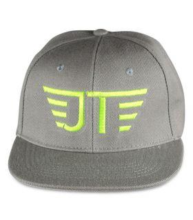 Jay grey flat visor cap