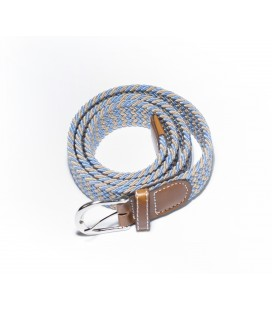 Blue-Brown women's belt
