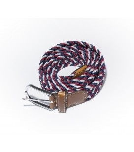 Red-White men's belt